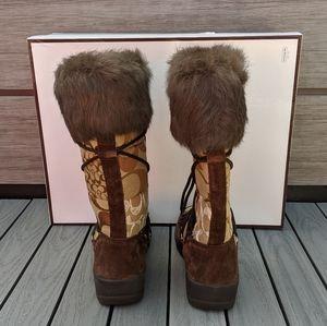 Coach Shoes - NIB Coach Laurilyn boots